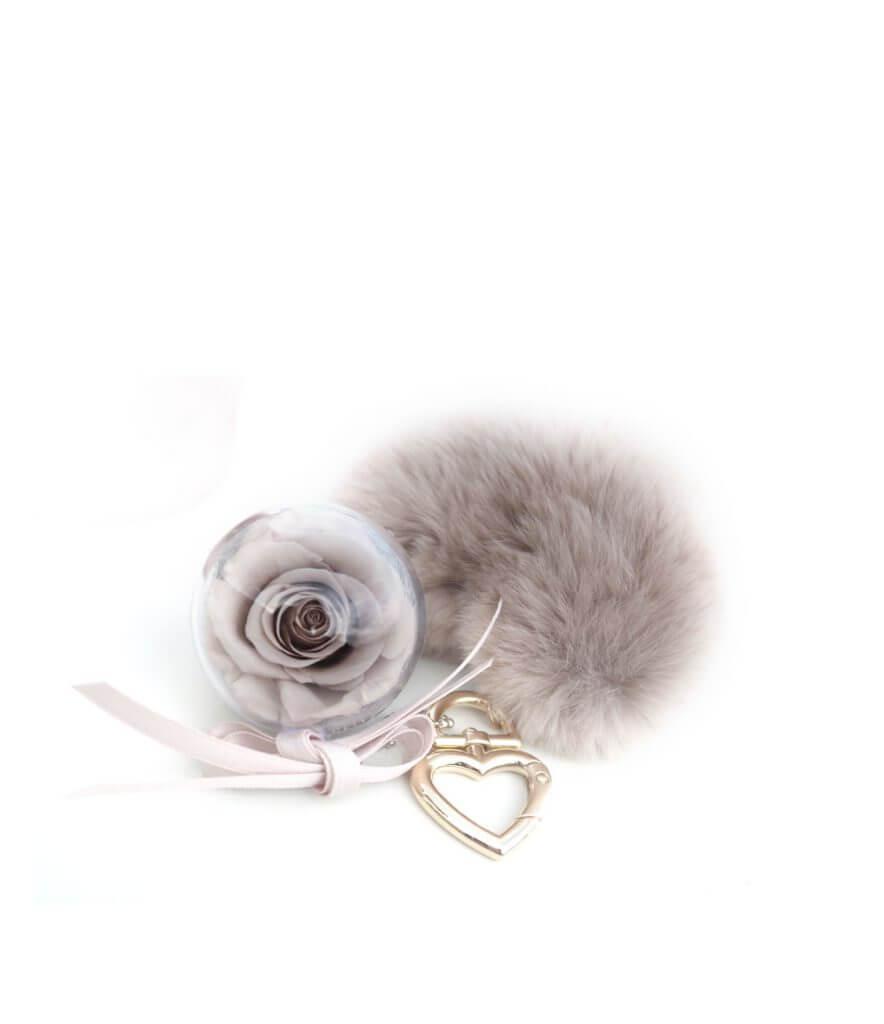 Eternity Τριαντάφυλλο Nude Μπρελόκ