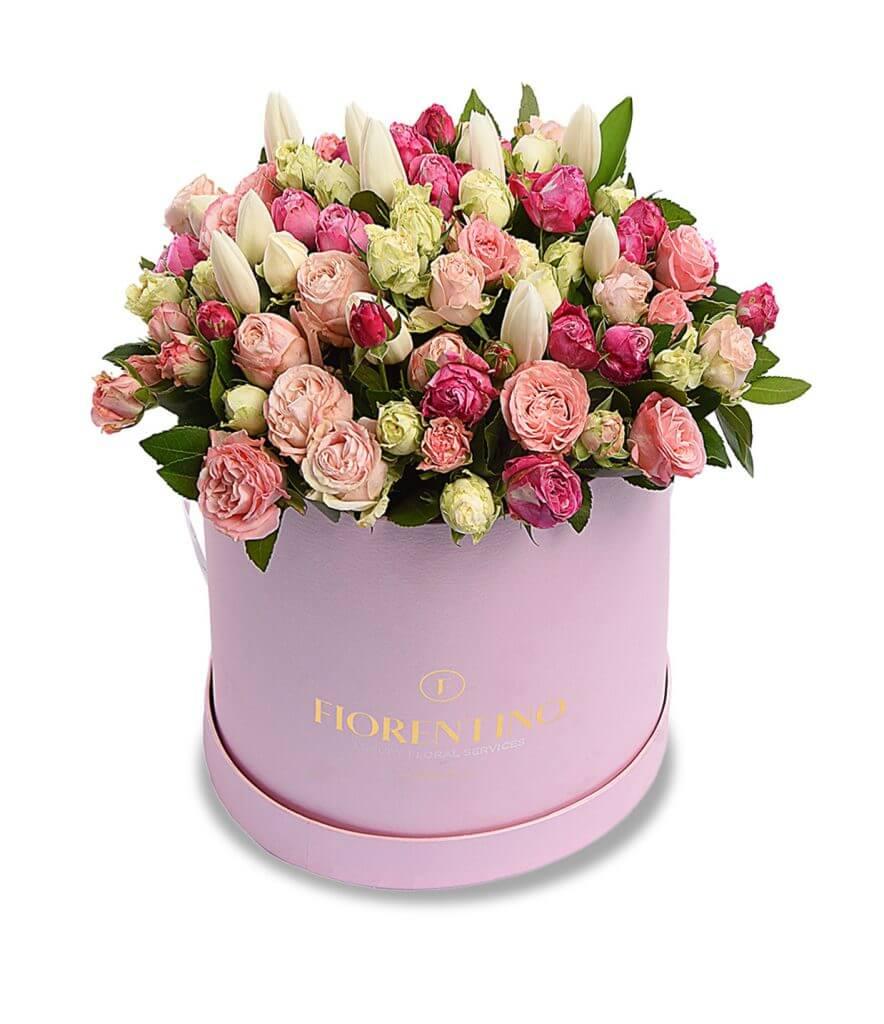 SPRAY ROSE BOX